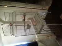 Very nice bird cage for sale. We had recently got rid