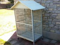 I have this large bird cage for sale. The price of this