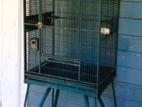We've rehomed our Parrot and no longer need this cage.