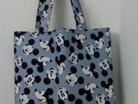 """* Handmade * 13"""" H x 14"""" W x 3"""" D * Mickey Mouse cotton"""