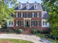 Gorgeous brick traditional home on the Woodlands golf