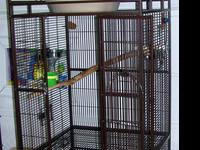 "1/2"" Wire Spacing Cage with stand: 38.25"" L X 38.25"" W"