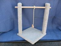 Large Cat Scratcher/Play Area: Model #1319, This Play