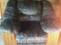 Oversized chair, good condition Contact Bob  Location: