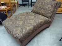beautiful large chaise lounger chair / sofa in very