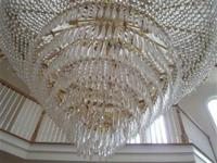 Big Beautiful Chandelier ($44,500) Approximately 84""