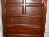 Large Chest. 5 Deep big draws. 42wx17dx60h. $425. Very