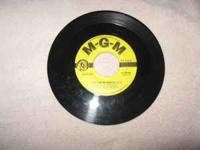 Collection of 1950's music on 45 rpm. Pop Rated VG +