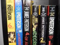 I have ALOT of James Patterson books along with a few