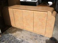 """Large Cream Buffet Console Table $65 30""""H x 73""""W x"""