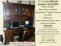 BEST OFFER Takes this STUNNING DESK & HUTCH Like New.
