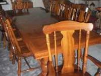 I have this super nice dining room set in an estate