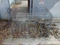 Selling Large Dog Kennel.... Asking $75 but make me an