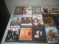 I have over 400 dvds for sale.I am asking $2 each for