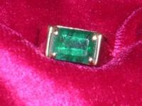 THIS BEAUTIFUL LARGE EMERALD ( About 3.5cts