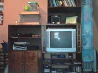 For sale: Large hand made entertainment center with