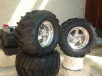 Here i have some decent looking tires, but theres only