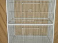 Great for small birds, this cage is constructed with