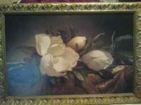 "Large Floral picture from Kirklands. Measures 2'3""x"