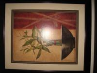 We have large framed picture of a oil painting with