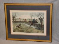 "LARGE FRAMED PRINT ""MY LADY LEADS"". Approximate Size:."