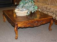 Large French Style Henredon Coffee Table   (Spring / North Houston) For  Sale In Houston, Texas Classified | AmericanListed.com