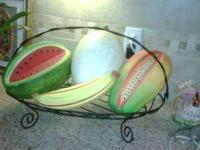 Large Fruit & Basket for sale i bought it last year for
