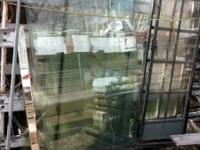 Glass table tops, or large glass panes or panels