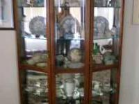 Price reduced $300.00 on Large glass and wood display