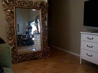 Gold Plastic Framed Mirror For Sale In Dona Vista Florida