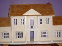 -Large Handcrafted Doll House and Antique Furniture: