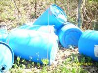 Large barrels. to view call wally at  $10.00 each