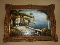 The Frame is 88x64x7.5. It is very large but also very