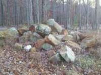 Good Selection of Natural Boulders, Can be priced as a