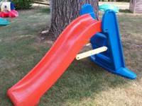 For sale is Large little tikes Slide. Gently used, in