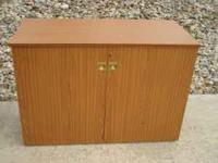 I am selling this large sewing cabinet from a smoke