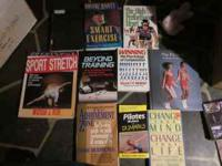 For sale is a lifetime library of exercise and training