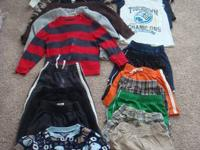 I'm selling a large lot of little boy clothing. All
