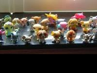 Big Lot of Littlest Pet Shop Critters. 65 in all. I was
