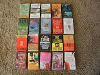 20 PAPERBACK BOOK NOVELS MYSTERY and ROMANCE Up for