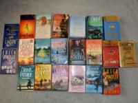 21 PAPERBACK BOOK NOVELS MYSTERY and ROMANCE Up for bid
