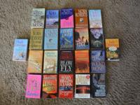 22 PAPERBACK BOOK NOVELS SECRET and ROMANCE Up for sale