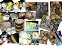 This is a LARGE LOT of antique / vintage china ware and