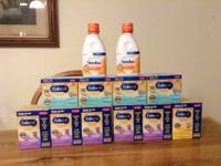 I have the following:.  5 boxes of Enfamil Gentlease