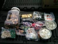 Huge Lot of various buttons and button type items as