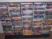I have almost 100 VHS tapes for children. Please see