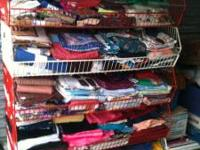 I am selling a huge lot of cloth remnants and other
