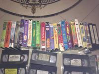 Selling a huge lot of VHS for just 50 cents each !!  A