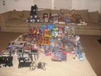 I have large lot of new collectible toys , PS2