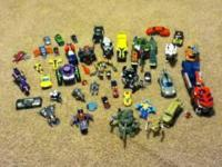 Included is Tank, bumble bee figure, burger king